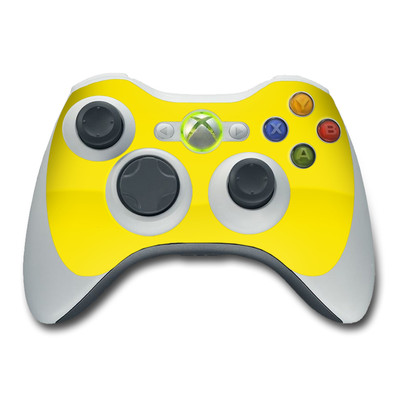 Xbox 360 Controller Skin - Solid State Yellow