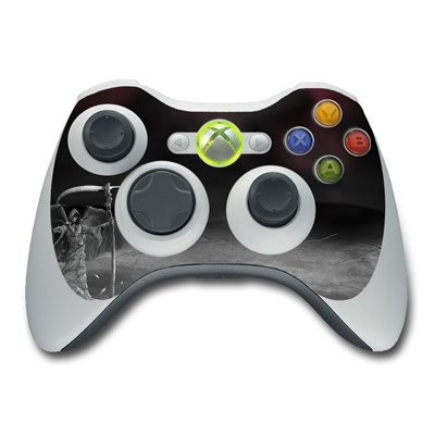 Xbox 360 Controller Skin - Time is Up