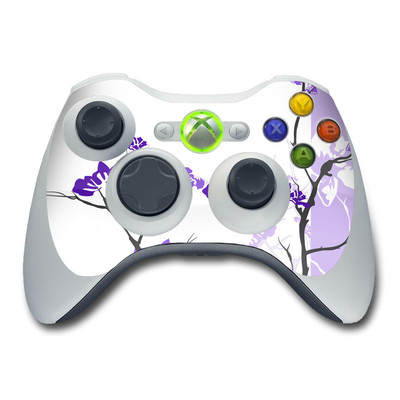 Xbox 360 Controller Skin - Violet Tranquility