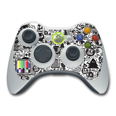 Xbox 360 Controller Skin - TV Kills Everything
