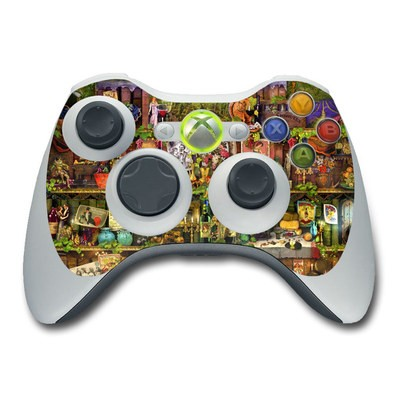 Xbox 360 Controller Skin - Wine Shelf