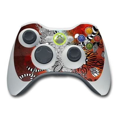 Xbox 360 Controller Skin - Wild Lilly