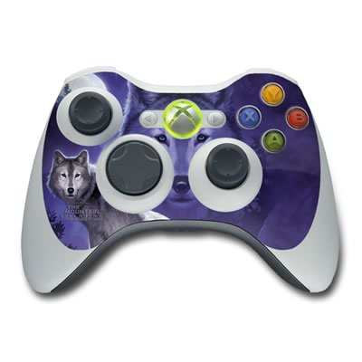 Xbox 360 Controller Skin - Wolf