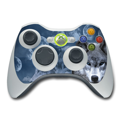 Xbox 360 Controller Skin - Wolf Cycle