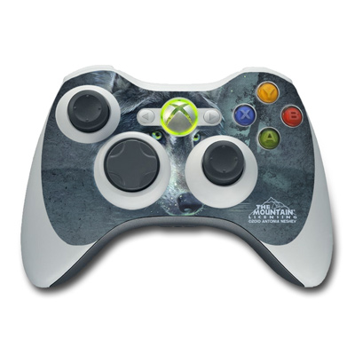 Xbox 360 Controller Skin - Wolf Reflection