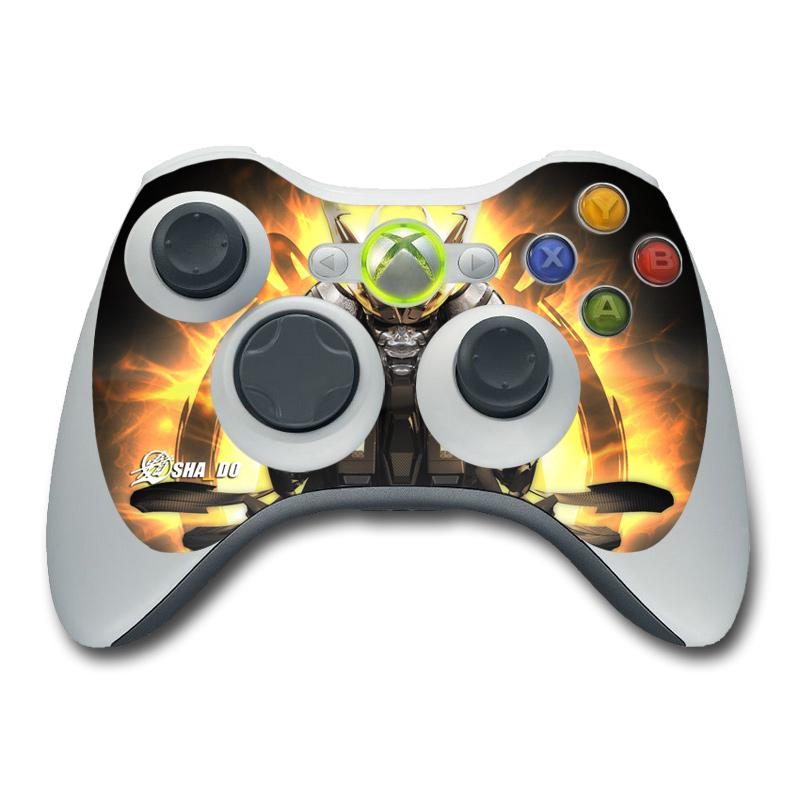 Xbox 360 Controller Skin - Armor 01 by SHA_DO | DecalGirl