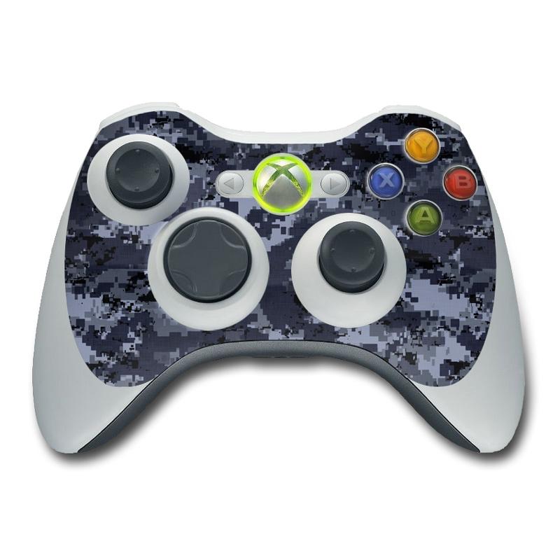 Xbox 360 Controller Skin - Digital Navy Camo by Camo ...