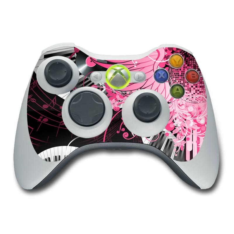 Xbox 360 Controller Skin - Disco Fly