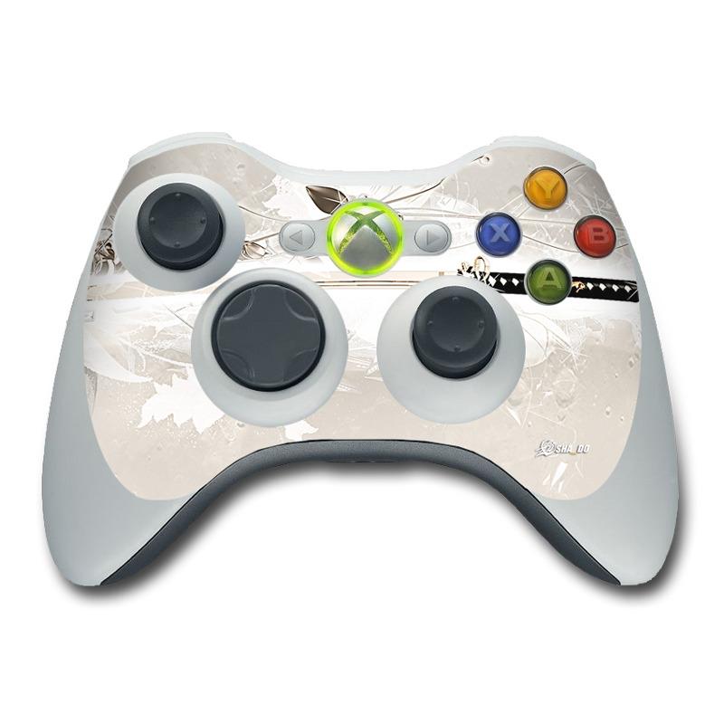 Xbox 360 Controller Skin - Katana Gold by SHA_DO | DecalGirl
