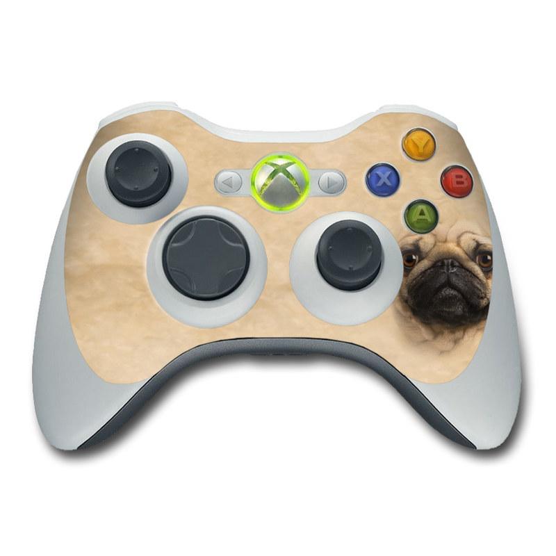 Xbox 360 Controller Skin - Pug by The Mountain | DecalGirl