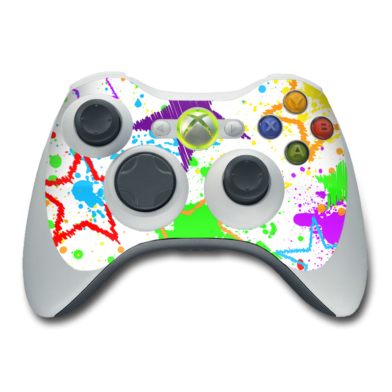 Xbox 360 Controller Skin - Scribbles by FP | DecalGirl