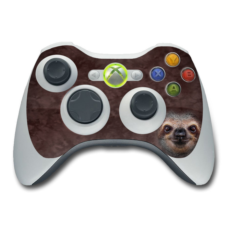 Xbox 360 Controller Skin - Sloth by The Mountain | DecalGirl