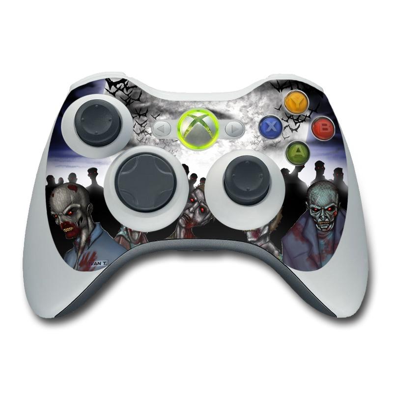 Xbox 360 Controller Skin - Undead | DecalGirl