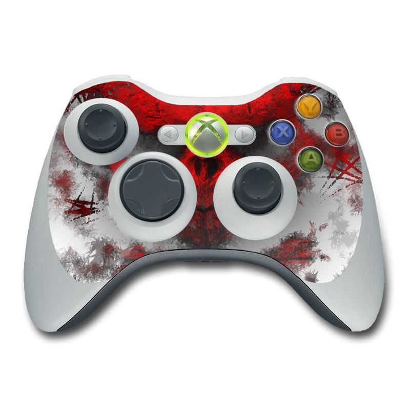 Xbox 360 Controller Skin - War Light by Gaming | DecalGirl