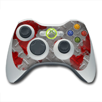 Xbox 360 Controller Skin - Accident