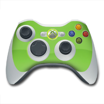 Xbox 360 Controller Skin - Solid State Lime
