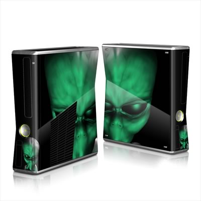Xbox 360 S Skin - Abduction