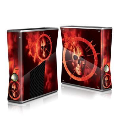 Xbox 360 S Skin - Blood Ring