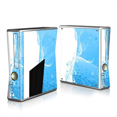 Xbox 360 S Skin - Blue Crush