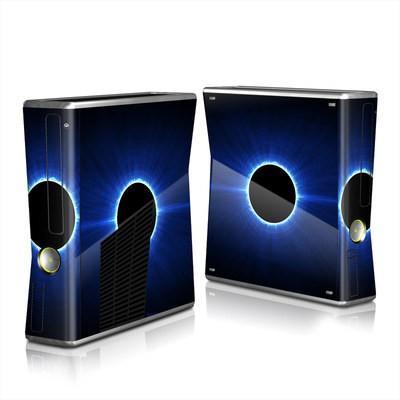 Xbox 360 S Skin - Blue Star Eclipse