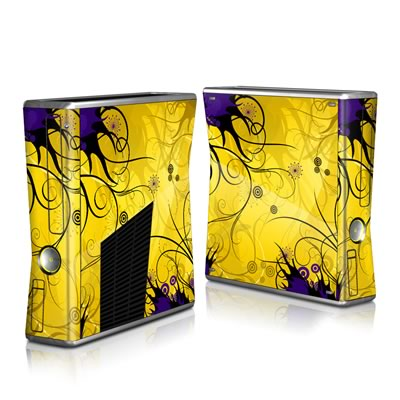 Xbox 360 S Skin - Chaotic Land