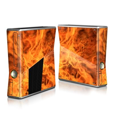 Xbox 360 S Skin - Combustion