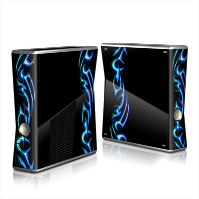 Xbox 360 S Skin - Cool Tribal