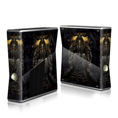 Xbox 360 S Skin - Death Throne