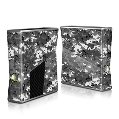 Xbox 360 S Skin - Digital Urban Camo