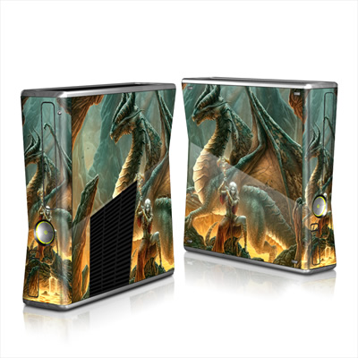 Xbox 360 S Skin - Dragon Mage