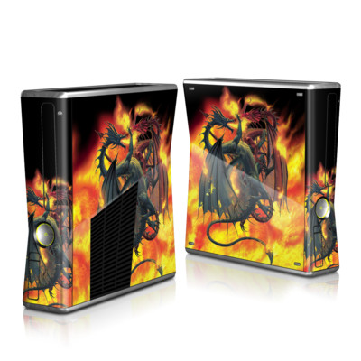 Xbox 360 S Skin - Dragon Wars