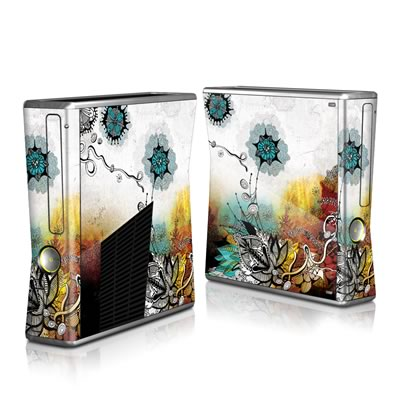 Xbox 360 S Skin - Frozen Dreams