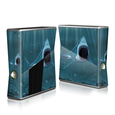 Xbox 360 S Skin - Great White