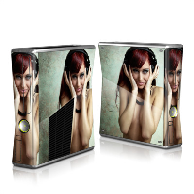 Xbox 360 S Skin - Headphones