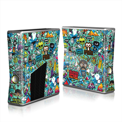 Xbox 360 S Skin - Jewel Thief