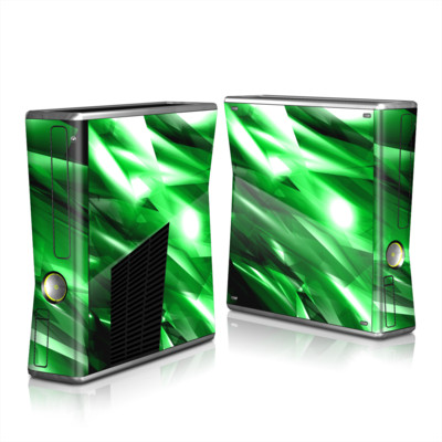 Xbox 360 S Skin - Kryptonite