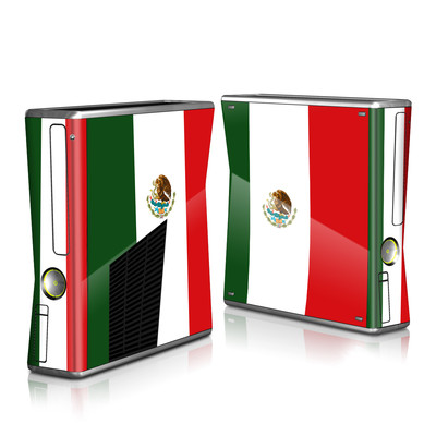 Xbox 360 S Skin - Mexican Flag