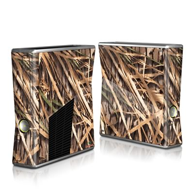 Xbox 360 S Skin - Shadow Grass