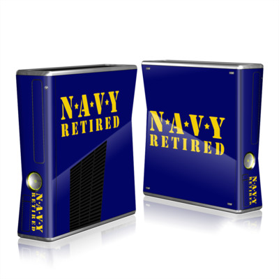 Xbox 360 S Skin - Navy Retired