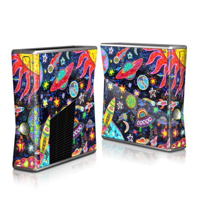 Xbox 360 S Skin - Out to Space