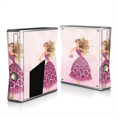 Xbox 360 S Skin - Perfectly Pink