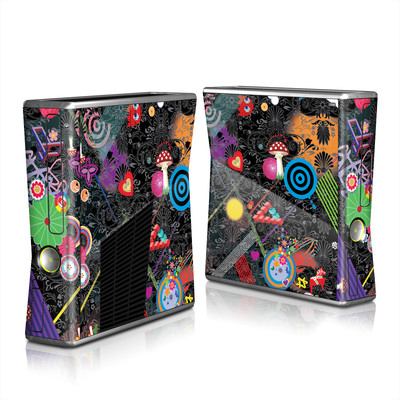 Xbox 360 S Skin - Play Time