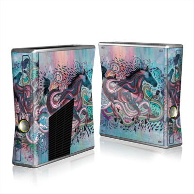 Xbox 360 S Skin - Poetry in Motion