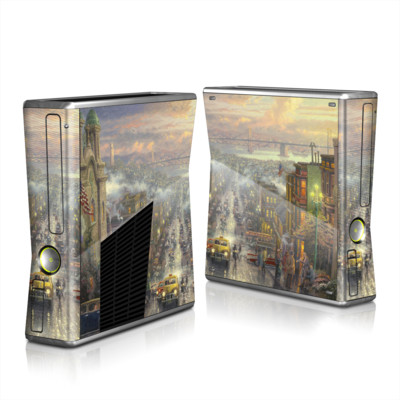 Xbox 360 S Skin - Heart of San Francisco