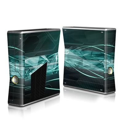 Xbox 360 S Skin - Shattered