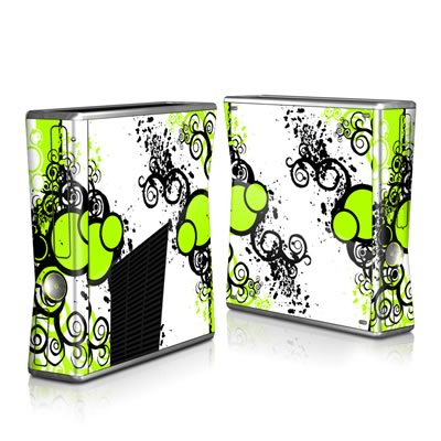 Xbox 360 S Skin - Simply Green