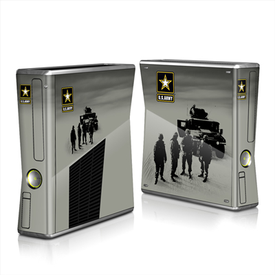 Xbox 360 S Skin - Soldiers All