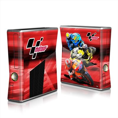 Xbox 360 S Skin - Speed Collage