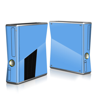 Xbox 360 S Skin - Solid State Blue
