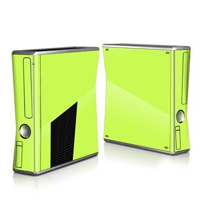 Xbox 360 S Skin - Solid State Lime